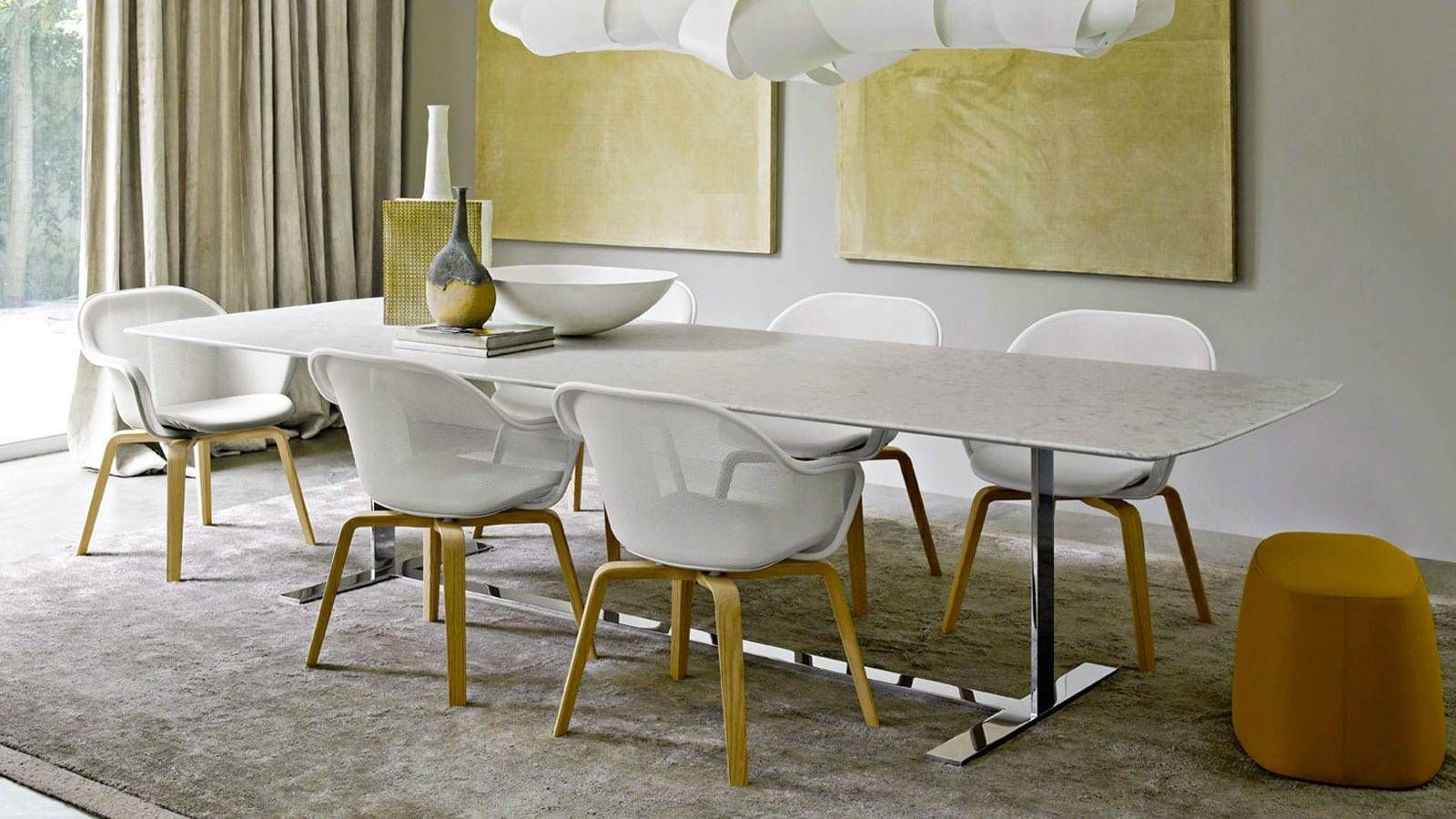 contemporary design furniture by Antonio Citterio for B&B ITALIA