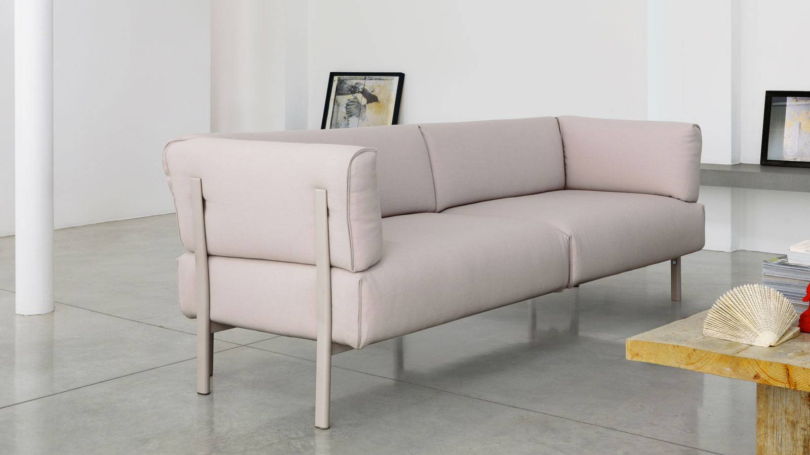 upholstered contemporary furniture by PearsonLloyd for Alias