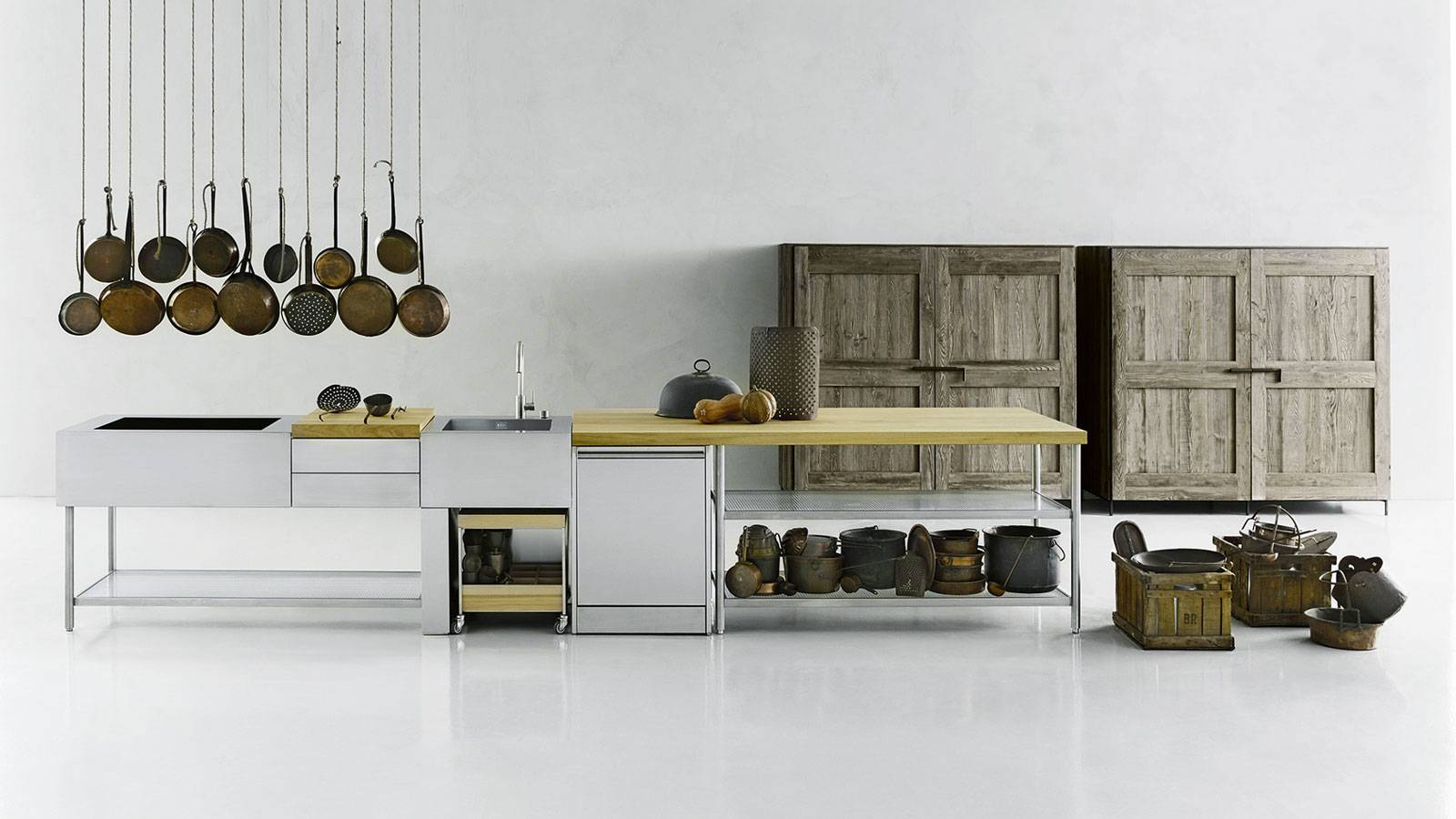 contemporary design kitchen by Piero Lissoni for Boffi