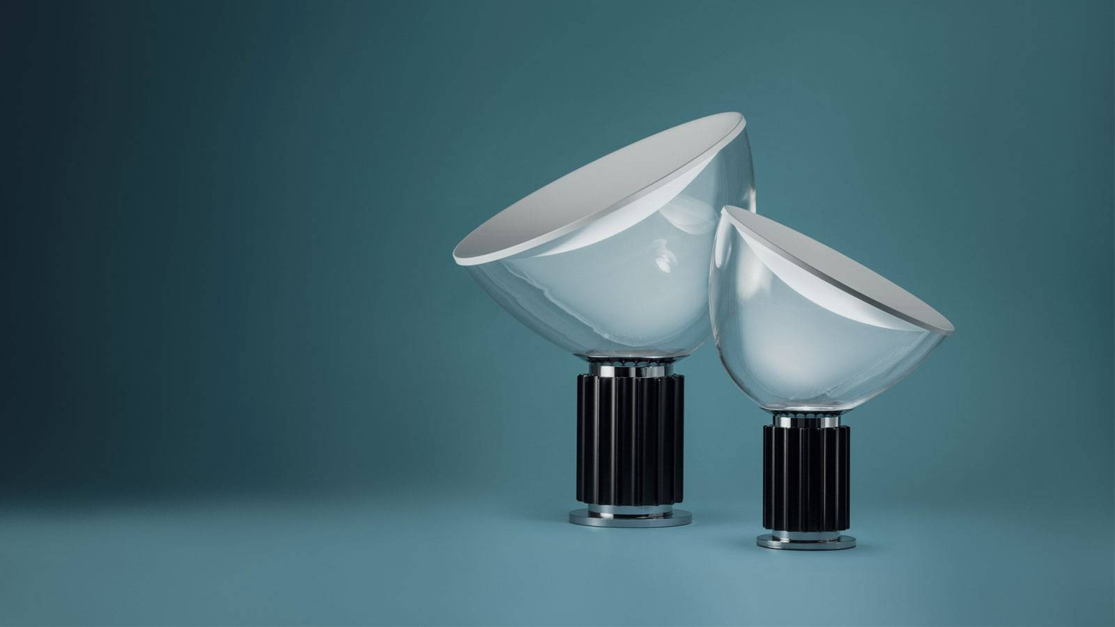 contemporary design lamp by Achille & Pier Giacomo Castiglioni for Flos