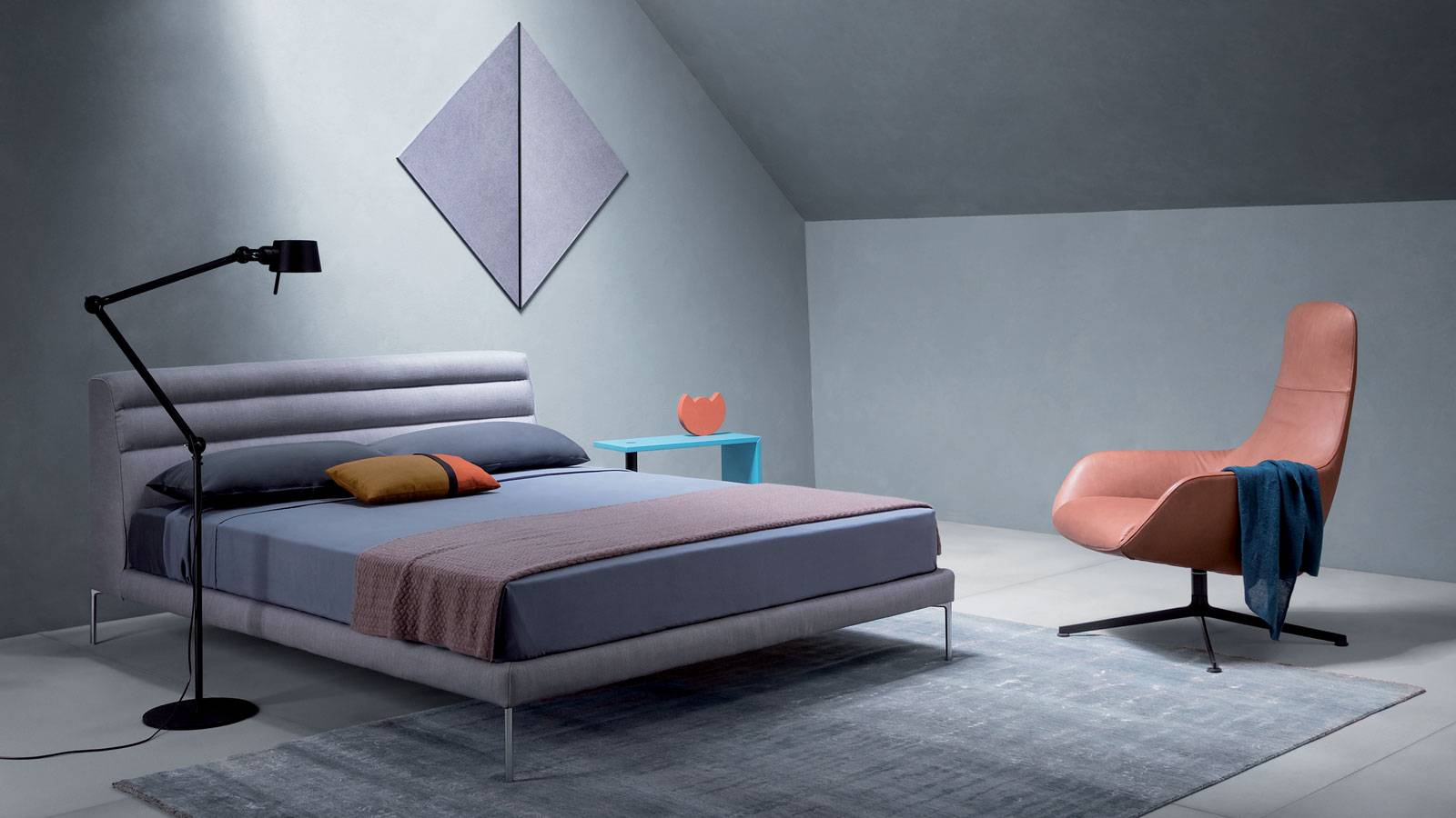 modern style design designed by Damian Williamson for Zanotta