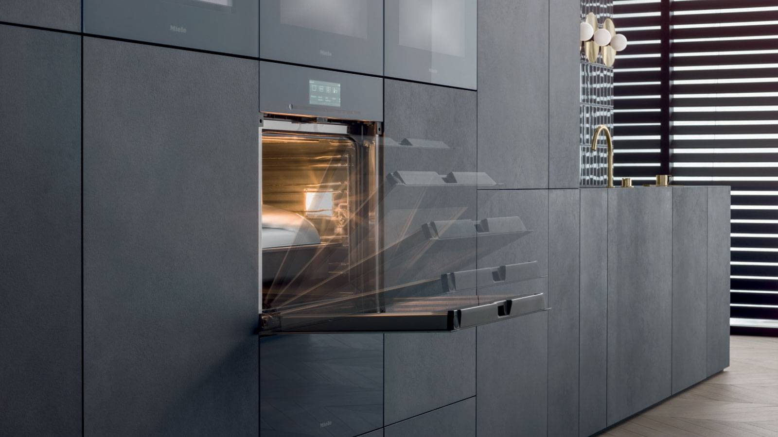 contemporary design kitchen by Miele