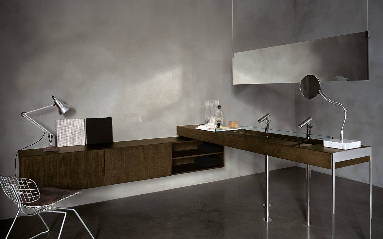 italian bathroom design by Benedini Associati for Agape