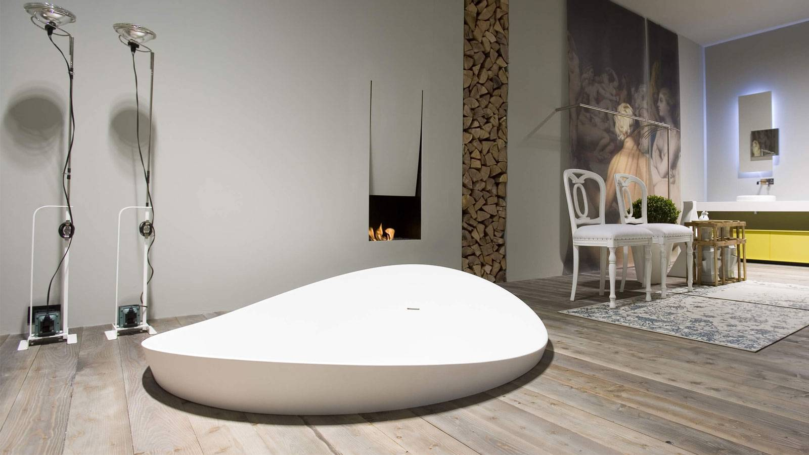 contemporary bathroom furniture by Mario Ferrarini for Antonio Lupi