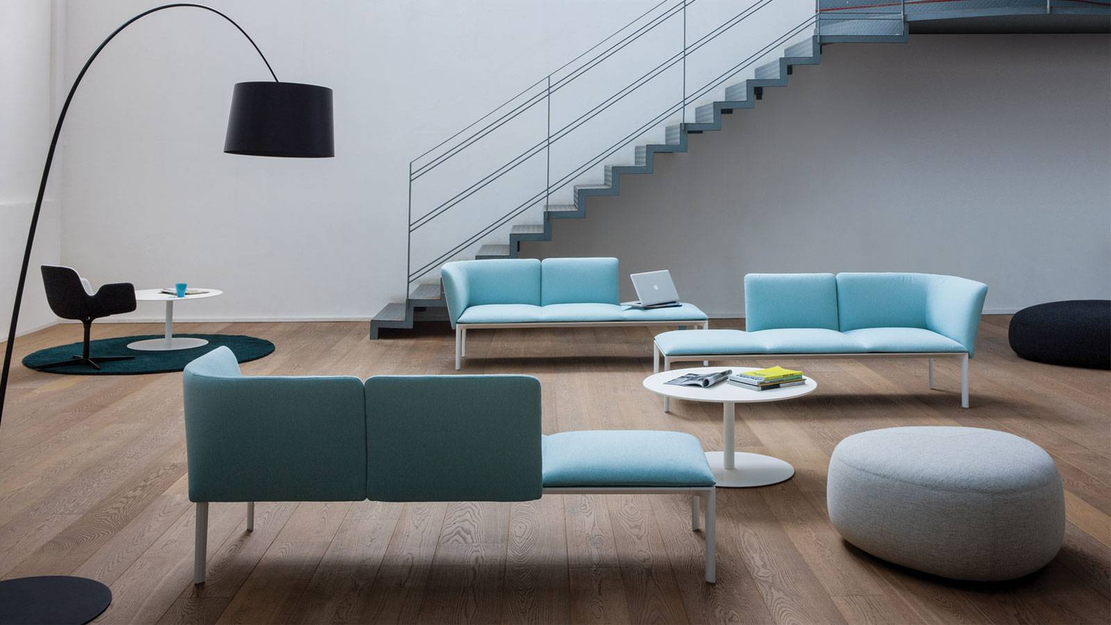 contemporary design seating system by Francesco Rota for LaPalma