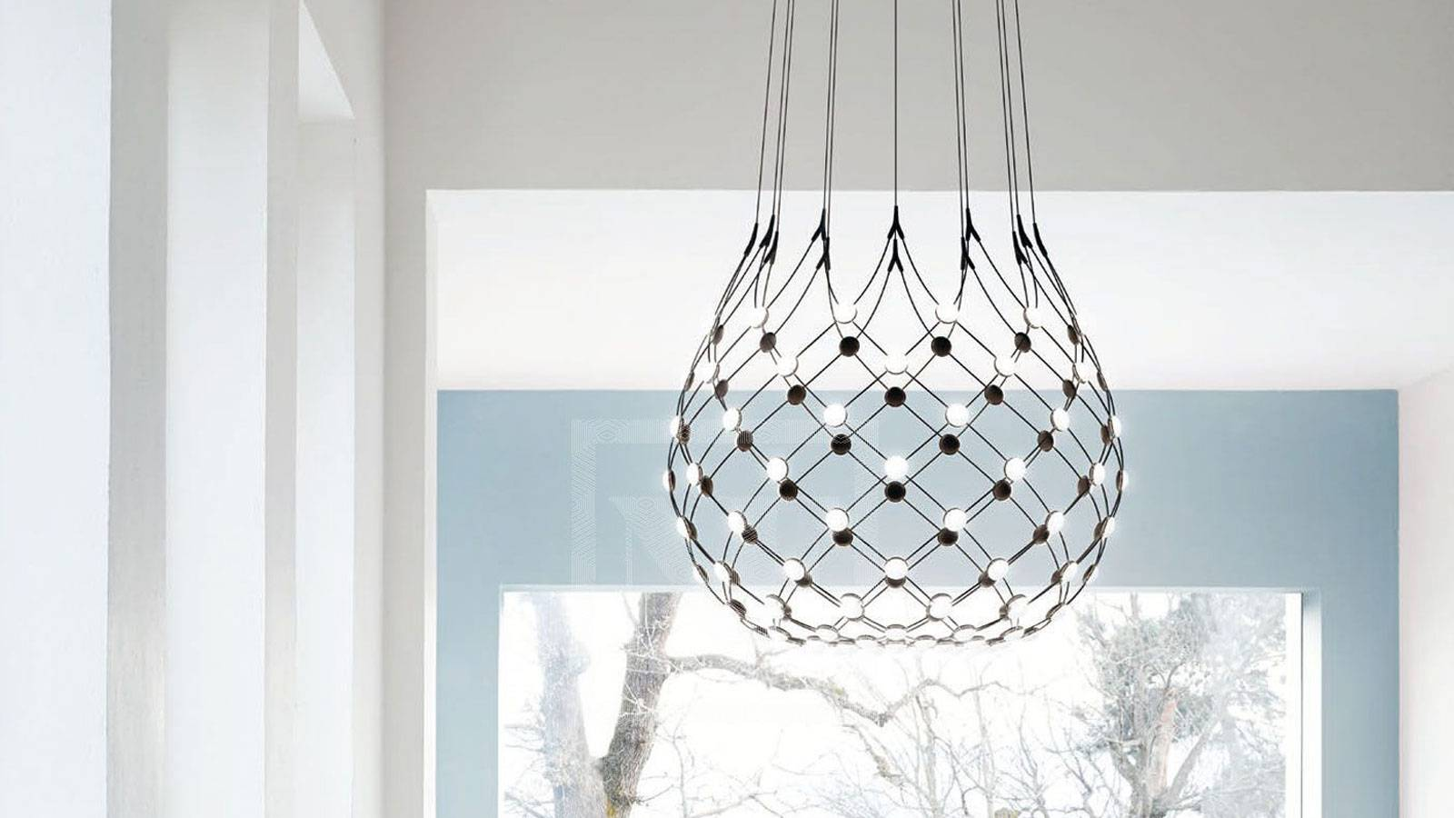 suspension design lamp by Francisco Gomez Paz for Luceplan
