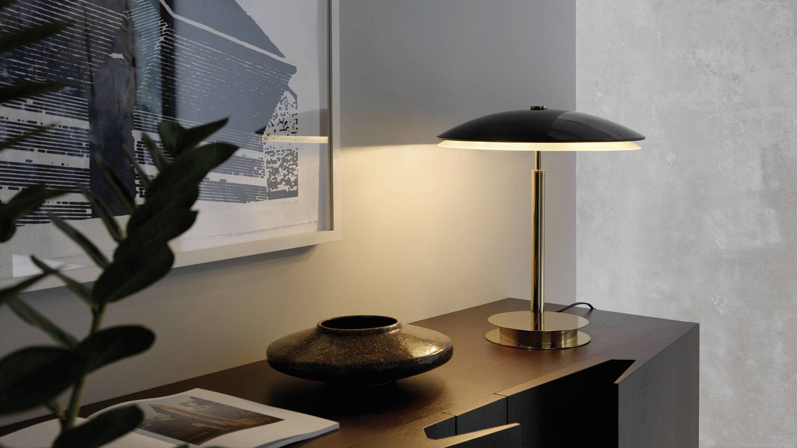 table lamp design by Fontana Arte