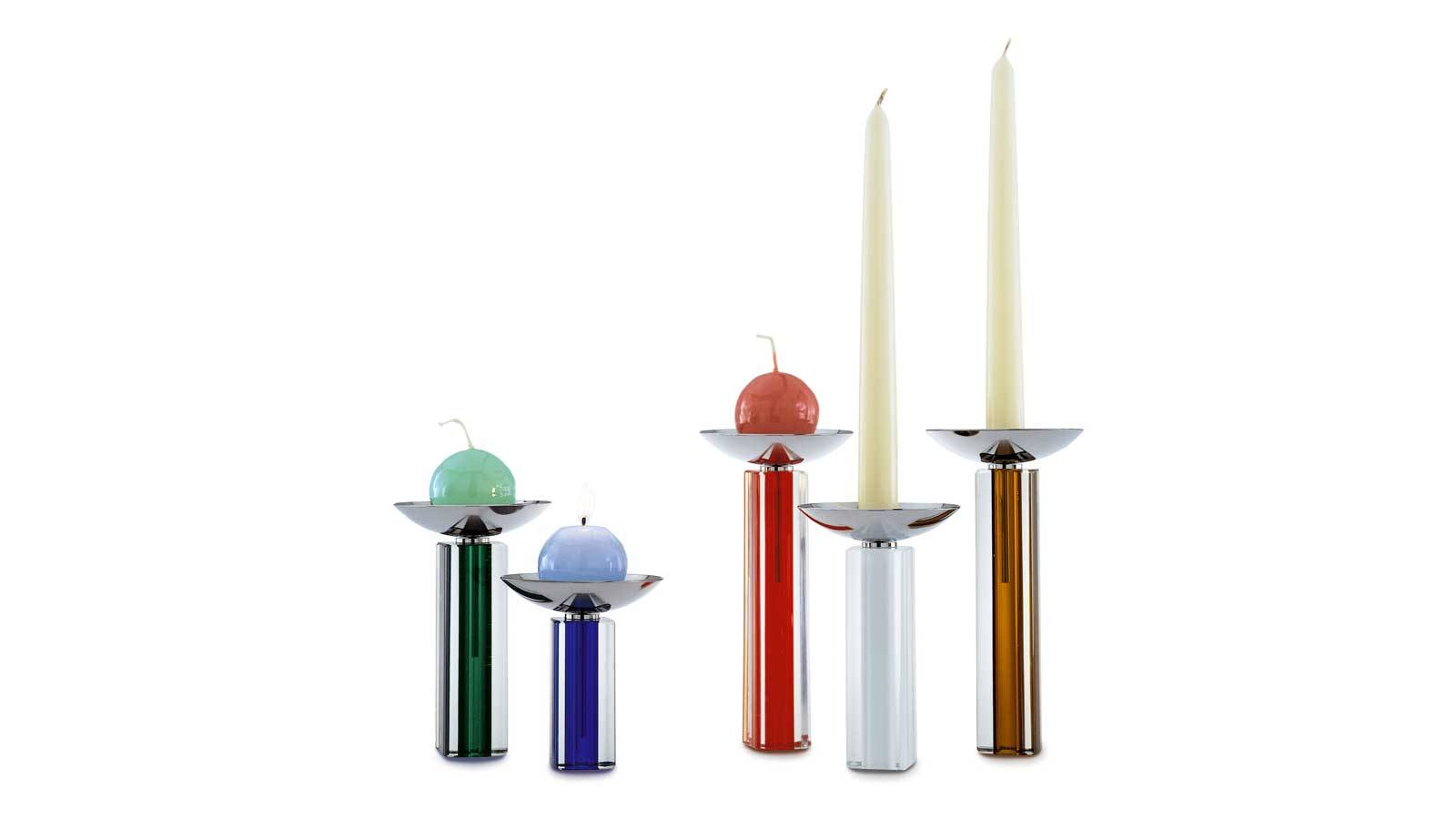 modern design for Candlestick by Venini