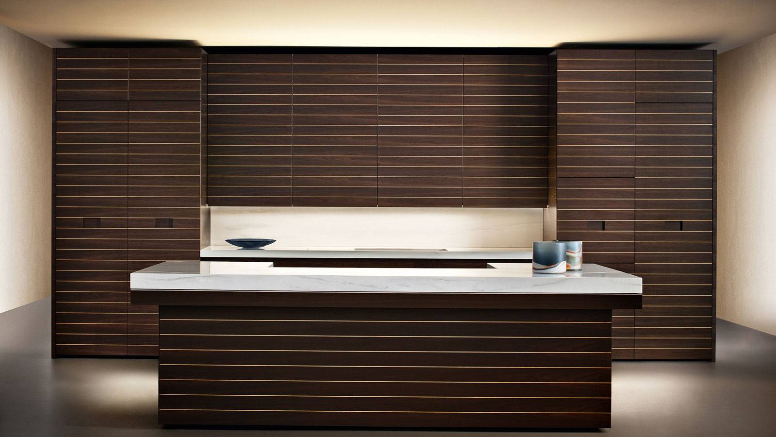kitchen design by Giorgio Armani for Dada