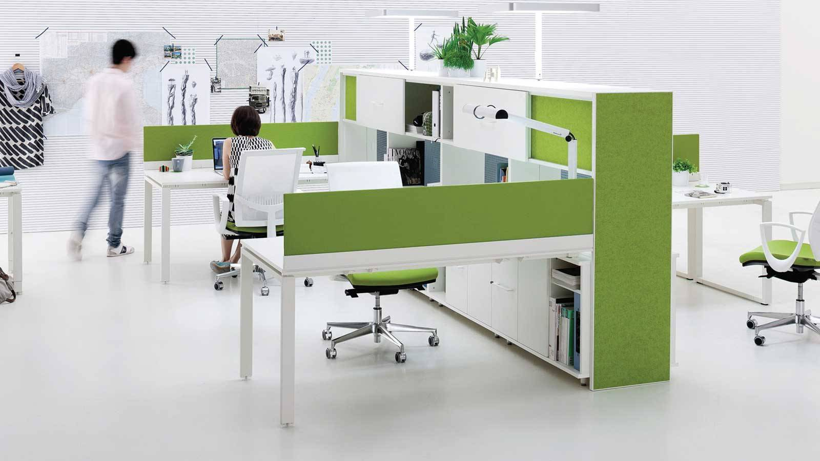 office contemporary furniture by Paolo Cortivo D&T Hub for Archiutti
