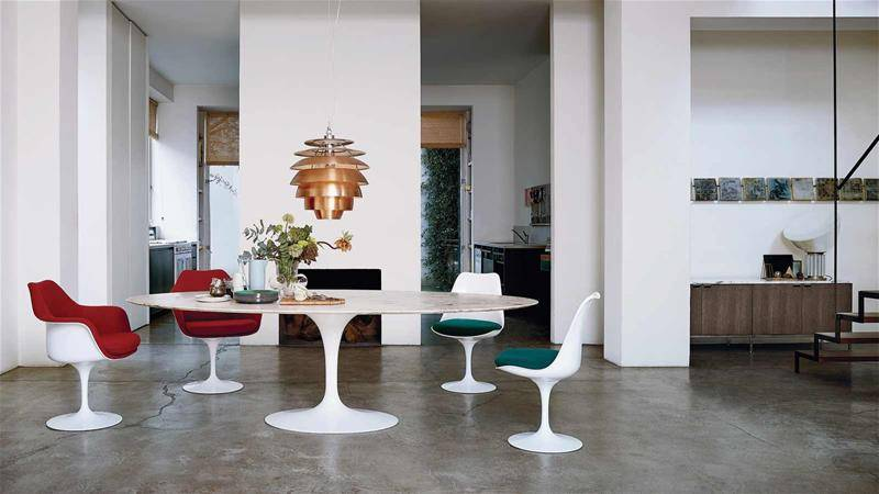 Knoll Design Armchair and Table Big