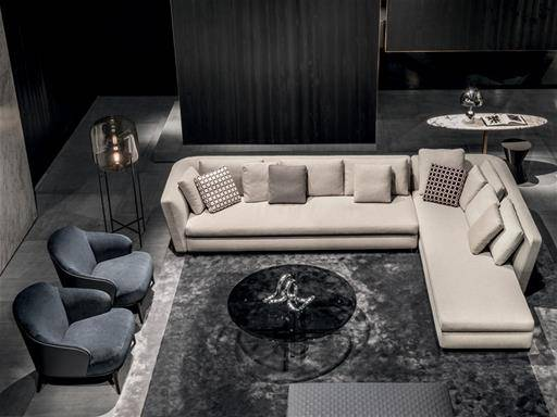 contemporary design by Rodolfo Dordoni for Minotti