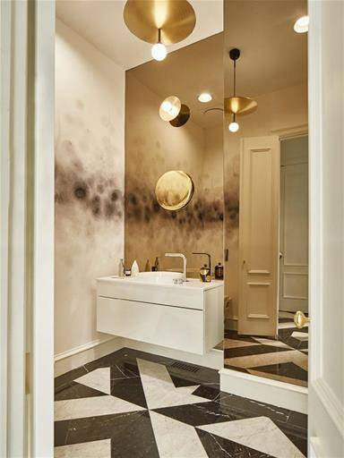 DESIGN BATHROOM IN HOME