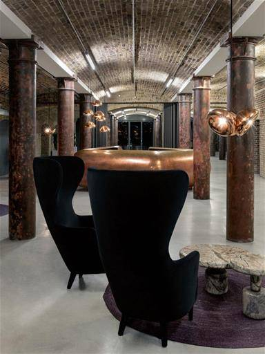 lampada di design contemporaneo di Tom Dixon