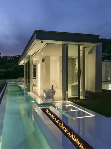 LOS ANGELES SWIMMING POOL HOUSE