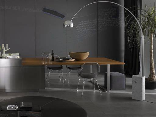 timeless design lamp by Castiglioni for Flos