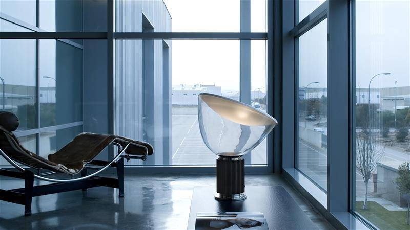 contemporarY design lamp by Achille Castiglioni