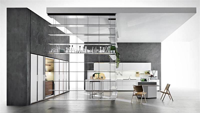 contemporary design kitchen by Dante Bonuccelli for Dada