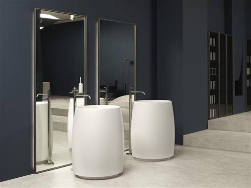 contemporary bathroom furniture by Carlo Colombo for Antonio Lupi