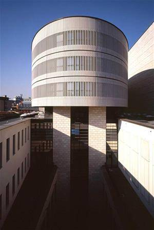 Mario Botta design enlargement Scala of Milan