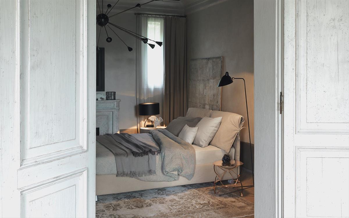 Flou produce letti di elevata qualit - Camera da letto flou ...