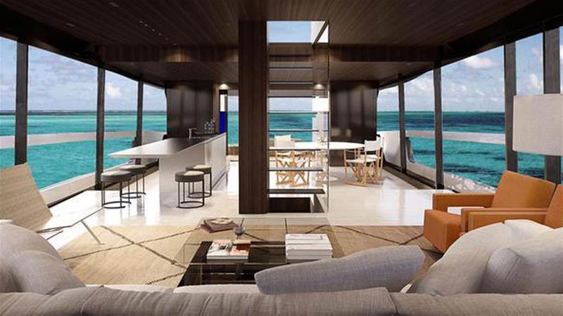 Gli arredamenti per hotel di lusso di kettal sag80 for Arredamenti interni per yacht