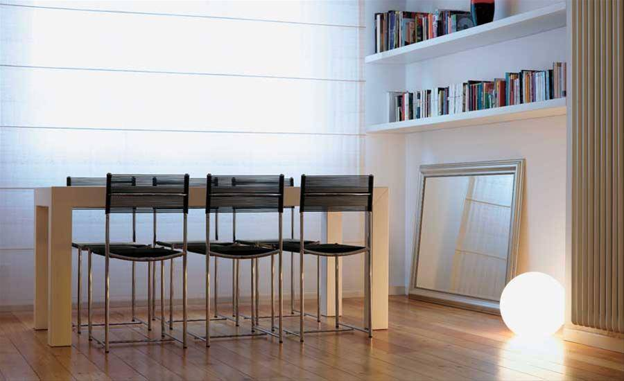 spaghetti chair black alias design furniture lunch table