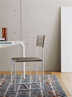 spaghetti chair alias design grey new colors