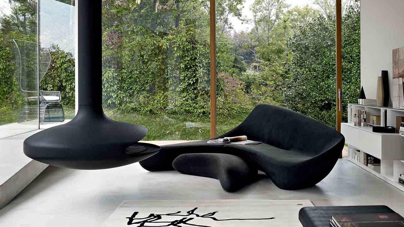 Zaha Hadid Sofa Black Sofas