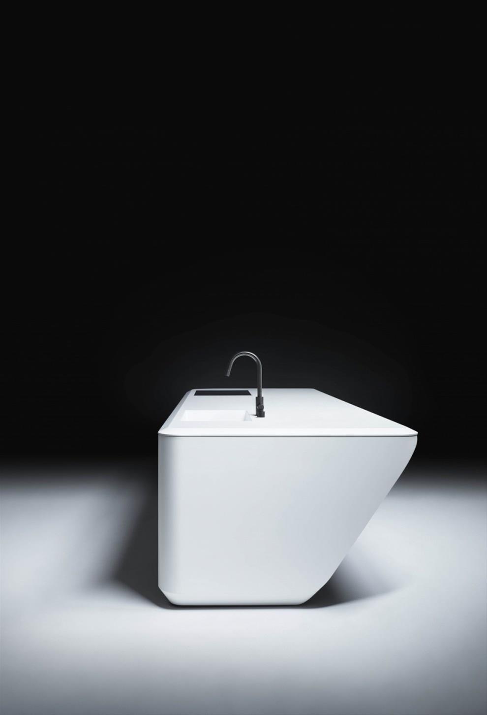 Zaha Hadid Furniture Design Black And White Kitchen