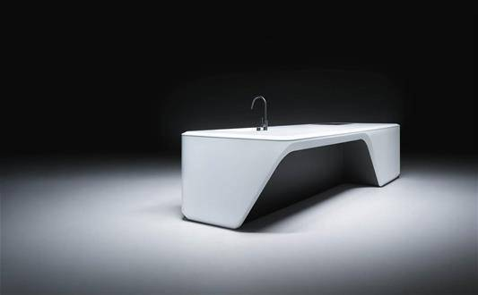 Zaha Hadid sofa design kitchen
