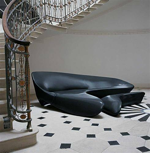 Zaha Hadid furniture design modern sofa