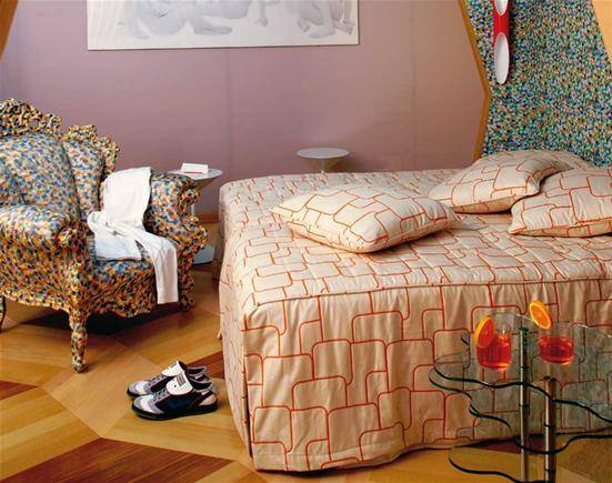 Proust armchair Mendini Cappellini interior design bedroom