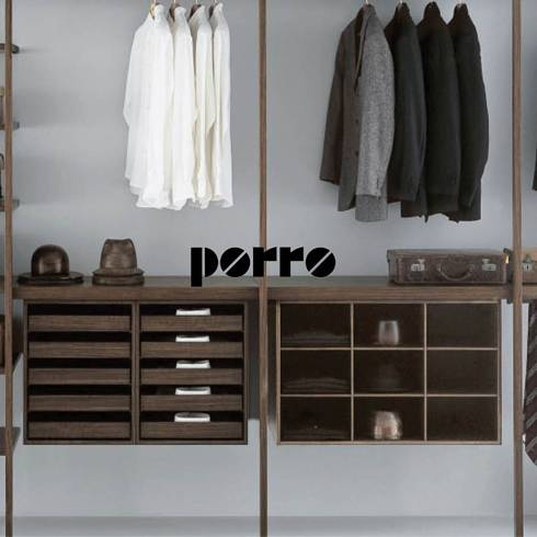 special offers of Porro products, 40% off for cabinets and closets