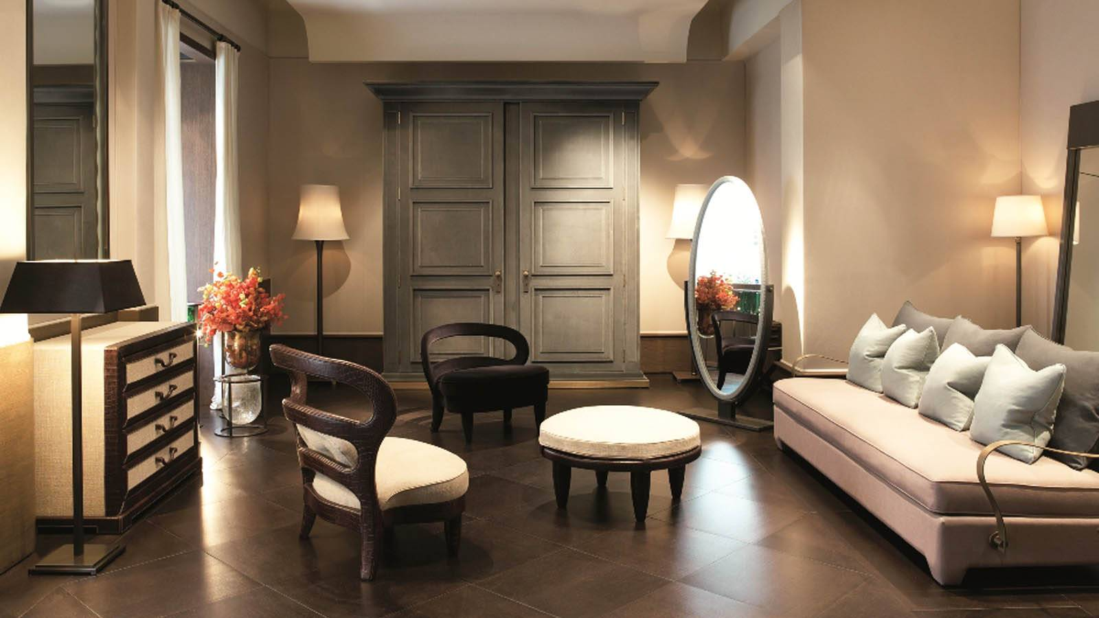Promemoria Furniture: Interior of a living room