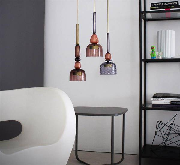 Picture of the Flauti lamp by Giopato & Coombes in a living room