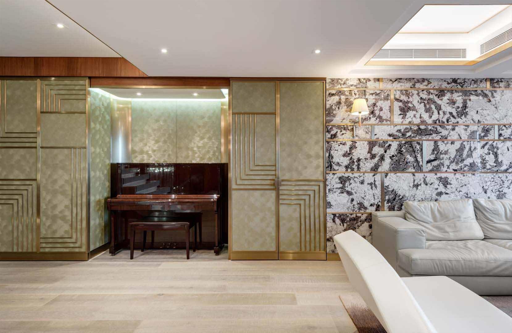 Arredamento case di lusso soggiorni di lusso una for App design interni