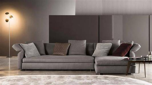 minotti_outlet_sale_sag80_milan_sofa_collar_fabric_grey
