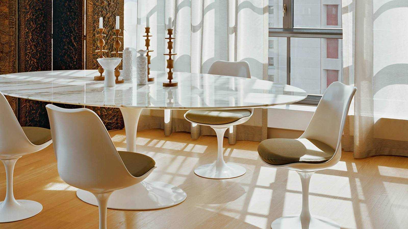 table saarinen furniture at eero dining tables x tulip creators for room knoll distressed sale