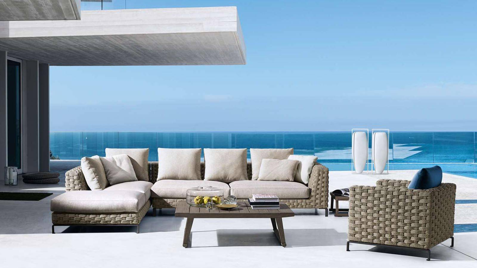BeB Italia Outdoor High Quality Outdoor Furniture Antonio Citterio Ray