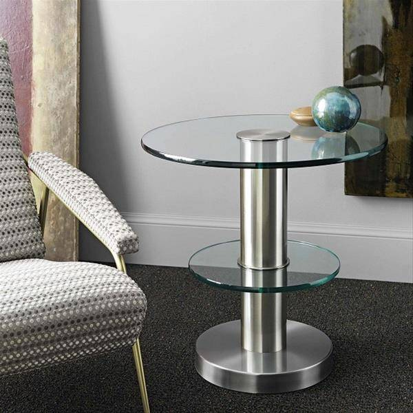 FontanaArte 1932 coffee table designed by Gio Ponti made in brass and with float glass surfaces