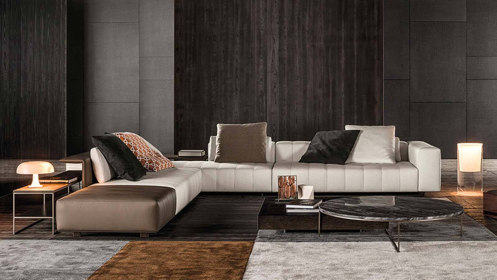 Minotti Freeman Sofa Duvet And Tailor Seating Systems