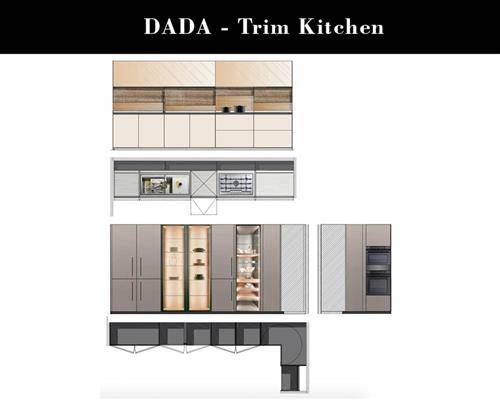 black friday furniture deals 2019 Arclinea Boffi Dada Trim glossy silica lacquered steel top glass