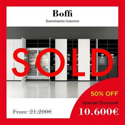 black friday furniture deals 2019 Arclinea Boffi Dada Duemilaotto column white lacquered