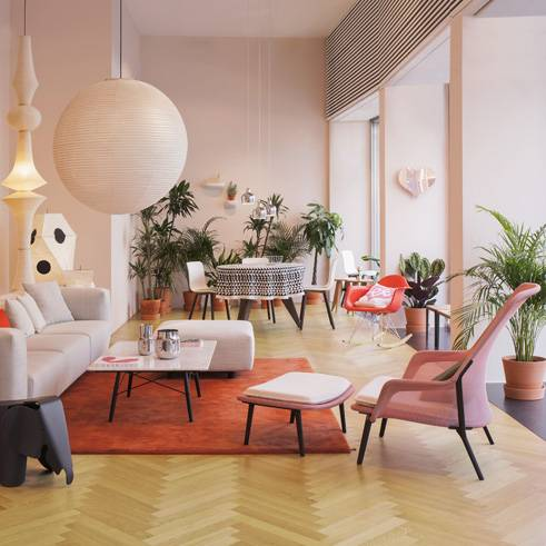 Beautiful vitra style with interior designer milano for Interior designer milano
